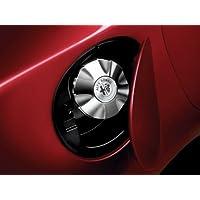 Genuine Alfa Romeo Giulietta aluminio tapa de combustible Cover- 71805868