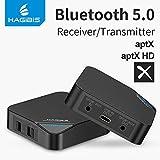 INICIO Hagibis Bluetooth 5.0 Transmitter and Receiver AptX HD Low Latency 25m Long