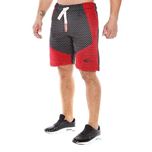 smilodox-shorts-limited-20-grossemfarbeschwarz-bordo