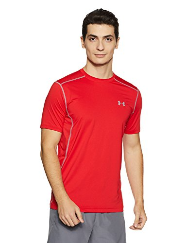 Under Armour Herren UA RAID SS' Kurzarmshirt Fitness - T-Shirts & Tanks, Red, XL