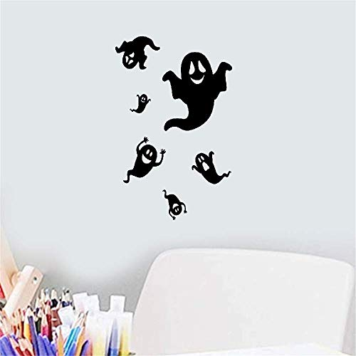 wandaufkleber 3d Wandtattoo Kinderzimmer Halloween Ghost Phantom Decals Dekoration Cartoon Aufkleber für Festival