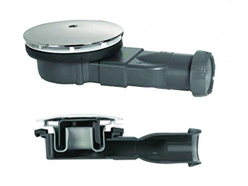 duschwannenablauf 90 mm Wirquin Slim Extra Flach niedrig 4 cm Profil Duschwannenablauf 90 mm 33,6 L/min