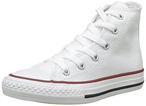 Converse Ctas Core Hi, Baskets mode mixte enfant - Blanc