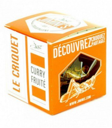 Insectes comestibles - Le criquet au Curry fruité
