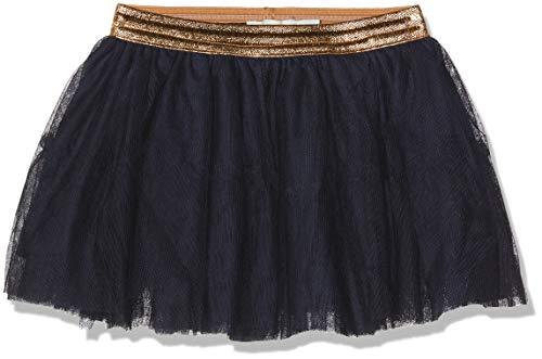 NAME IT Baby-Mädchen Rock NMFTULLU Tulle Skirt NOOS, Blau (Dark Sapphire), (Herstellergröße: 80)
