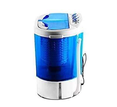 New Twin Tub Mini Portable 230v Washing Machine For Outdoor Garden Camping Spin Dryer by LEISURE DIRECT ®