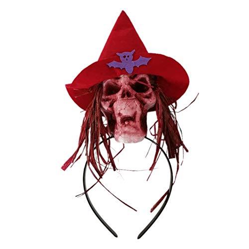 SimpleMfD Halloween-Kostüm, Totenkopf-Motiv, Kostüm-Zubehör 2 (Einfach Lehrer Halloween Kostüm)