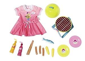 Zapf Baby Born Play&Fun Barbeque Set Conjunto de Accesorios para muñecas - Accesorios para muñecas (Conjunto de Accesorios para muñecas, 3 año(s),, 43 cm, Chica, 43 cm)