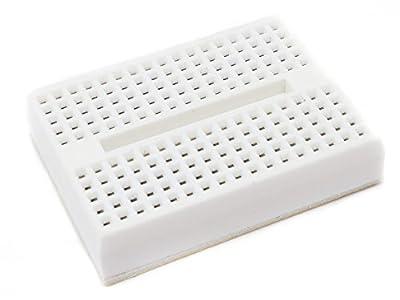 Adraxx 170 Tie Point Mini Self-Adhesive Solderless Breadboard - Color May Vary