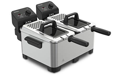 Tefal - fr361010 - Friteuse double 2x3.5l 3600w noir/inox double pro fryer