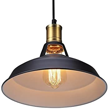 Metal Retro Suspension Luminaire Industrielle Vintage Plafonnier