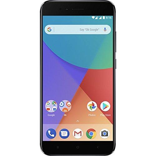 """Xiaomi Mi A1 Dual SIM 4G 32GB Black - Smartphone 14 cm (5.5""""), 1920 x 1080 pixels, 32 GB, 12 MP, Android, Nero"""