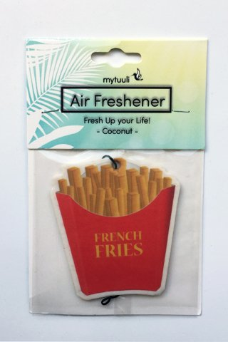 mytuuli Lufterfrischer Pommes - Duftbaum (Duft Vanille)