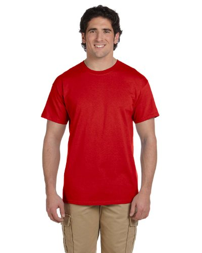 Fruit of the LoomHerren T-Shirt Rot - True Red