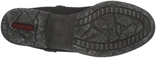 Rieker 74794, Bottes Chelsea Femme Noir (Schwarz/00)