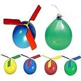 fgyhtyjuu Klassische Ballon-Flugzeug-Hubschrauber für Kinder Kindertasche Fliegen-Spielzeug-Geschenke Im Freien zufälligen Farbe