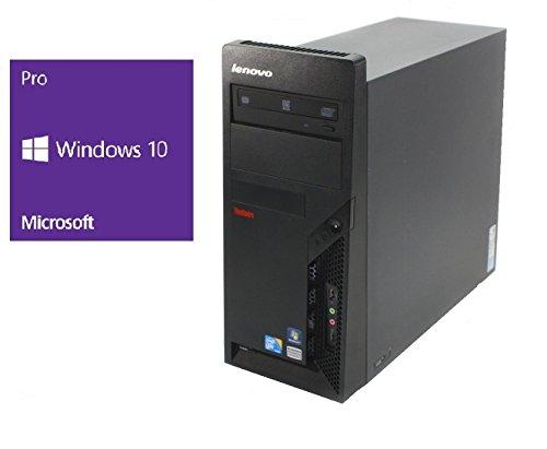 Preisvergleich Produktbild Refurbished Office PC / Lenovo ThinkCentre M58p MT / Intel Core 2 Duo E8400 @ 3, 0 GHz / 4GB DDR3 RAM / 320GB HDD / DVD-ROM / Windows 10 Pro vorinstalliert (Zertifiziert und Generalüberholt)