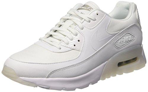 Nike Women's W Air Max 90 Ultra Essential Sneakers, Off White (White/White-Metallic...
