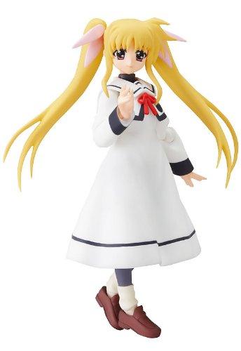 Magical Girl Lyrical Nanoha As: Figma Fate Testarossa School Uniform Ver. PVC Figure