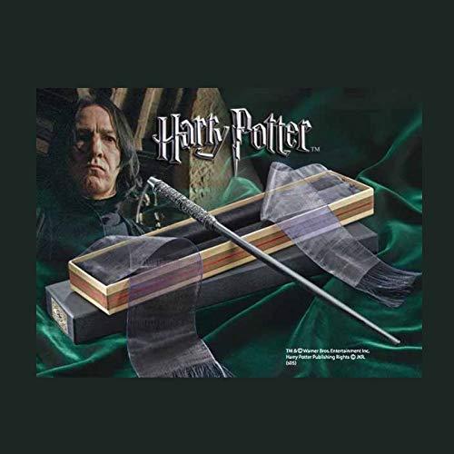La nobile collezione Harry Potter Professor Piton Wand nella scatola di Ollivander