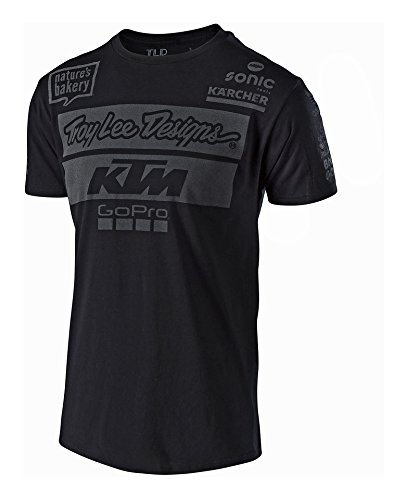 Troy Lee Designs Men's 2017 Team KTM Graphic T-Shirt-Large