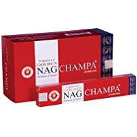 Räucherstäbchen Golden Nag Champa 15g Agabrathi Vijayshree Fragrance 1er, 3er, 6er, 12er (1) preisvergleich bei billige-tabletten.eu