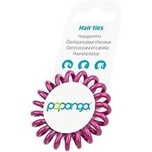 Elastiques Papanga originaux à spirale pour cheveux, Classic Edition, taille: Small, couleur: Radiant Orchid