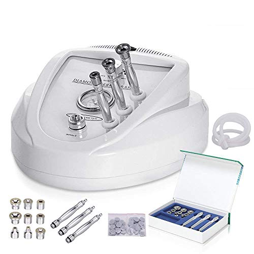 MYSWEETY Professional Microdermabrasion Diamond Machine Kits Skin Peeling Skin Ringiovanimento Skin Lift Stringere Beauty Machine (Potenza di aspirazione: 65-68cmhg)