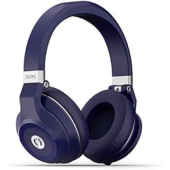 f3c3cf90859 MuveAcoustics Evoke MA-1999FB Over-Ear Wireless Bluetooth Headphones  (Flagship Blue)