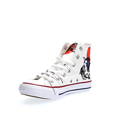 CONVERSE unisex sneakers alta 156920C ALL STAR HI CANVAS LTD BIANCO JAPAN Bianco japan