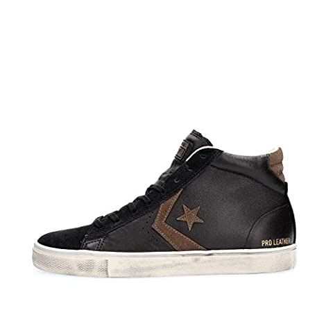 Converse Pro Leather Vulc Distressed Mid hommes, suède, sneaker high, 40 EU