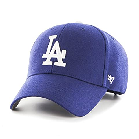 47 Unisex MLB Los Angeles Dodgers MVP Baseball Cap, Blue (Royal), One Size