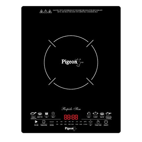 Pigeon Rapido Slim Induction cook top  available at amazon for Rs.2344