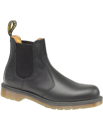 Dr Martens B8250 Slip-On Dealer Boot Unisex Leather Boots Black - 8...