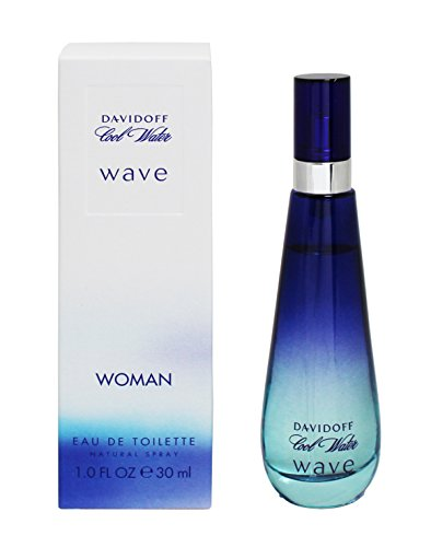 Davidoff COOL WATER WAVE femme / woman, Eau de Toilette, Vaporisateur / Spray, 30 ml