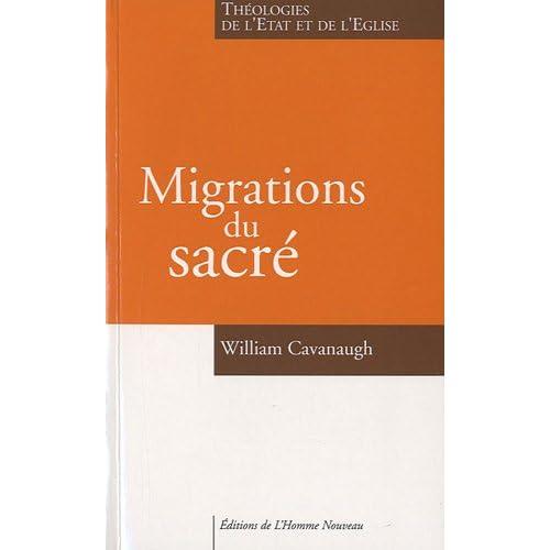 Migrations du sacré, Théologies de l'Etat et de l'Eglise