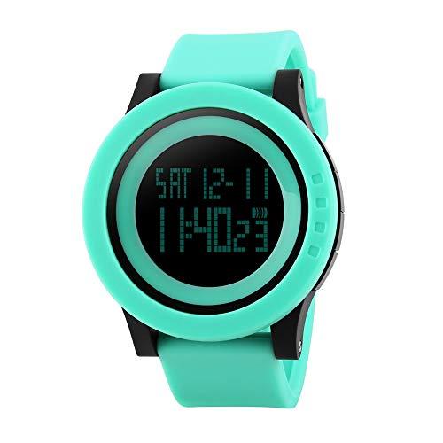 FeiWen Mujer Fashion Multifuncional Digitales Deportivo Relojes de Pulsera Outdoor Militar 50M Impermeable...