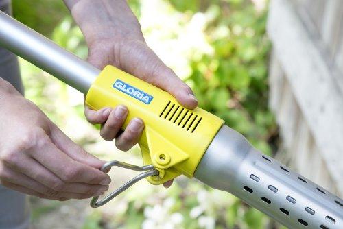Gloria Unkrautbrenner Thermoflamm bio Electro Unkrautbrenner/Grillzünder, gelb -