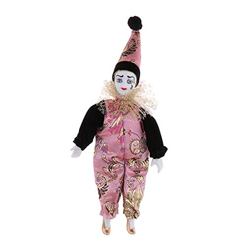 Baoblaze Porzellan Baby Clown Puppen Karneval Dekoration Halloween Party Geschenke 22cm - # 3