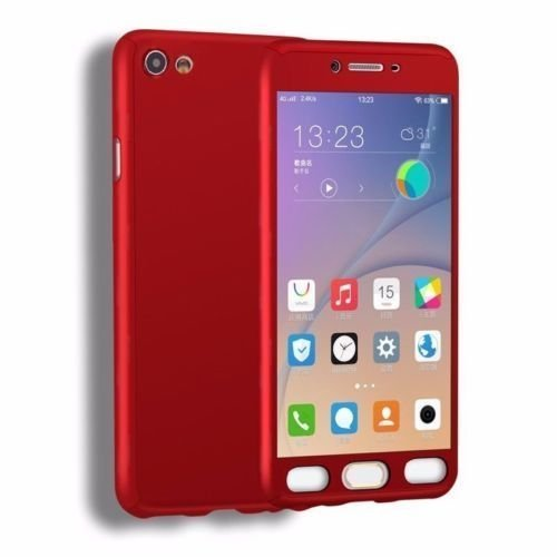 super popular 5a72f e8b06 Dream2Cool 360 Degree Ipaky-Full Body Protection (Front+ Back + Temper  Glass) Case Cover for Vivo V5/V5s -Red