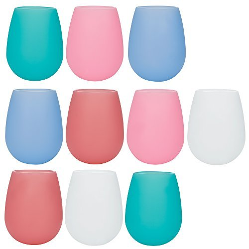 set-of-10-multi-colored-unbreakable-stemless-silicone-wine-drinking-glasses-vibrant-colorful-tumbler