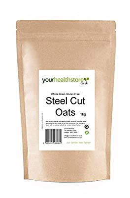 Whole Grain Gluten Free Steel Cut Oats 1kg from yourhealthstore