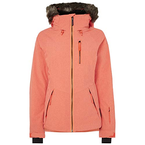 O'Neill PW Vauxite Jacket Skijacke und Snowboardjacke für Damen XS orange (Neon Flame)