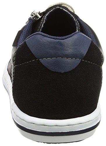 Rieker Herren 19022-00 Sneakers Schwarz (00)