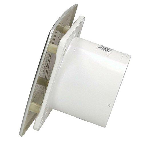 Satin cuisine salle de bain mur hotte aspirante 100mm Awenta style linea avec minuterie