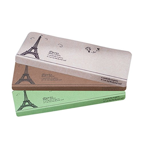 FONGFONG Stufenmatten Polyester Treppenmatten Selbstklebende Pads Rechteckig Treppenhaus Auflagen Lärmschutz Haushalts Teppiche Rutschfest Dorm Matten Teppich mit Eiffelturm Muster Grün