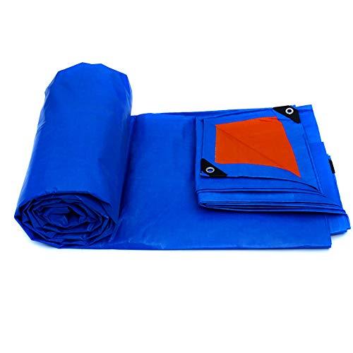 Telone telo di plastica per tende da sole telo per tende da pioggia per esterni telo di copertura per tela cerata telo per copertura in tela cerata (blu) (dimensioni : 10m×8m)