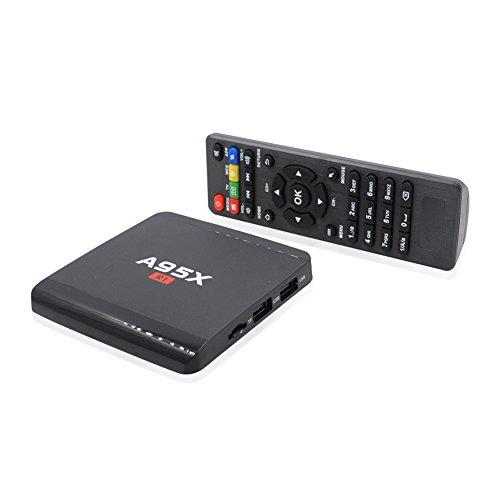Android TV Box 7.1 R1 Upgrade ANTSIR A95X Amlogic Rockchip s95w Quad- core Cortex A7 1.5GHz 32bit 4K Google Smart Media Player WiFi- HDMI [2017] Test