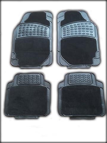 VOLKSWAGEN VW POLO (1998–2002) Universelle Passform für 4Stück Gummi +