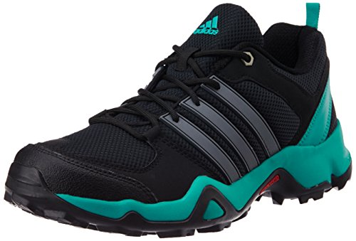 adidas Men's Storm Raiser 2 Black, Grey and Green Multisport Training Shoes - 6 UK